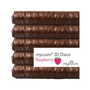 mycusini 3d choco dark raspberry descriptive label